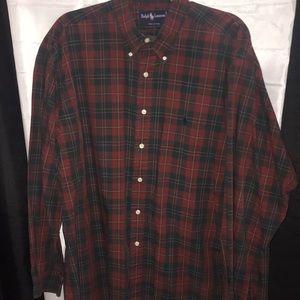Ralph Lauren Mens Cotton Shirt J34
